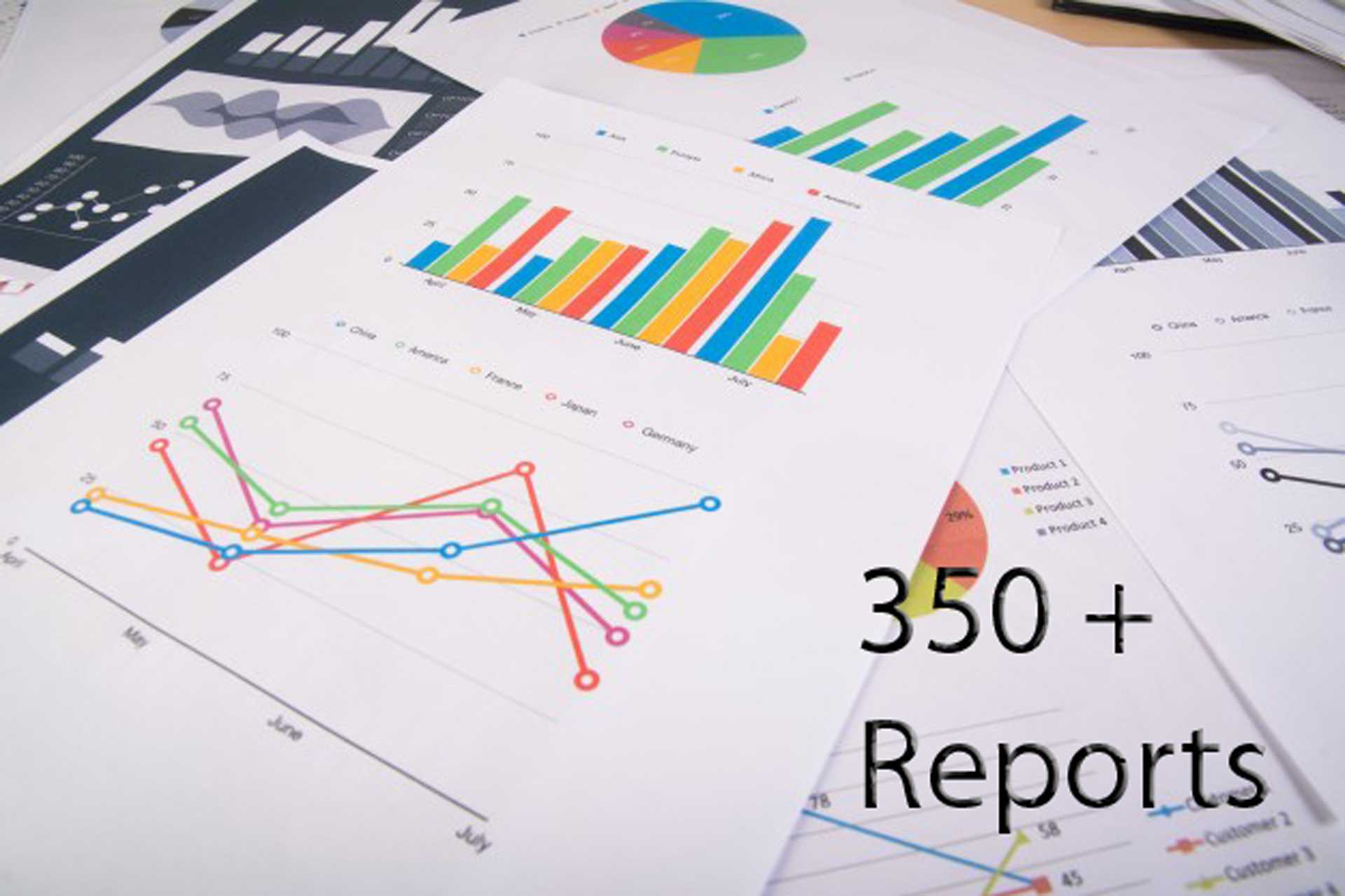 350+ Reports